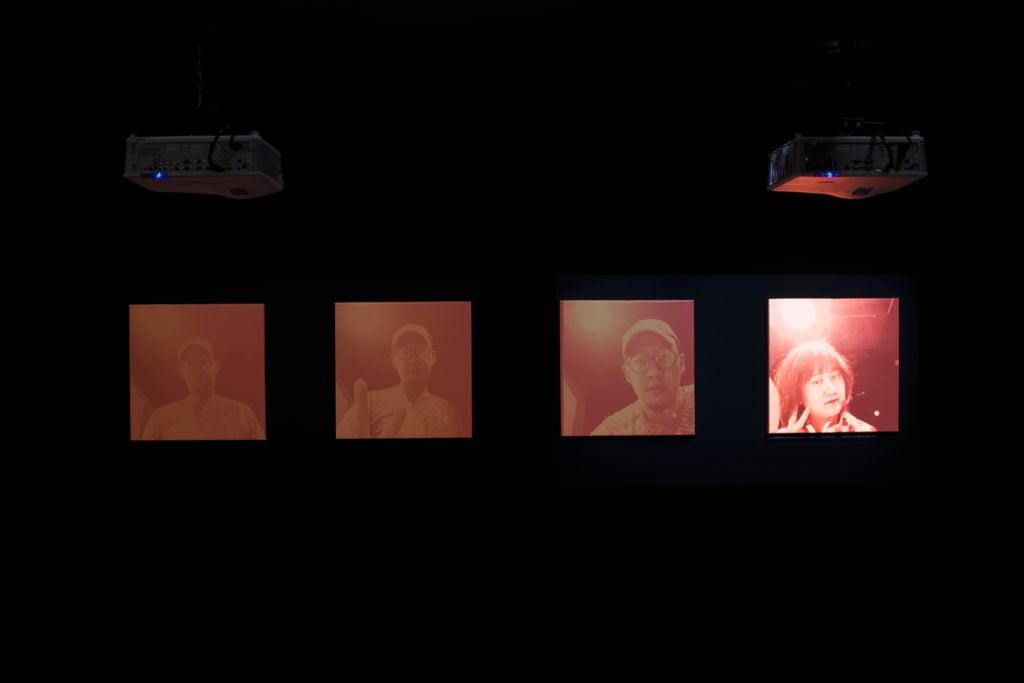 CHO Li-Hang, PENG Yu-Chu, TZENG Yi-Reh (Beyond Amazing) (Taiwan) The Lament of the Film Machine 2019 Interactive installation