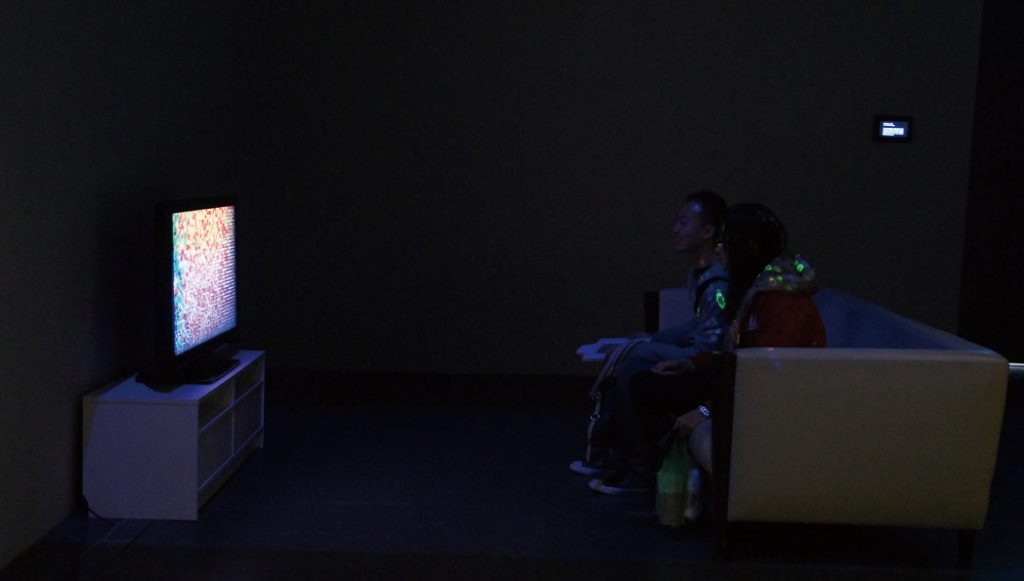 Infiltrating, 2014 Chimeras' World -Solo Exhibition by Yu-Chuan Tseng, Digital Art Center, Taipei, Taiwan, 2014/2/22-4/3