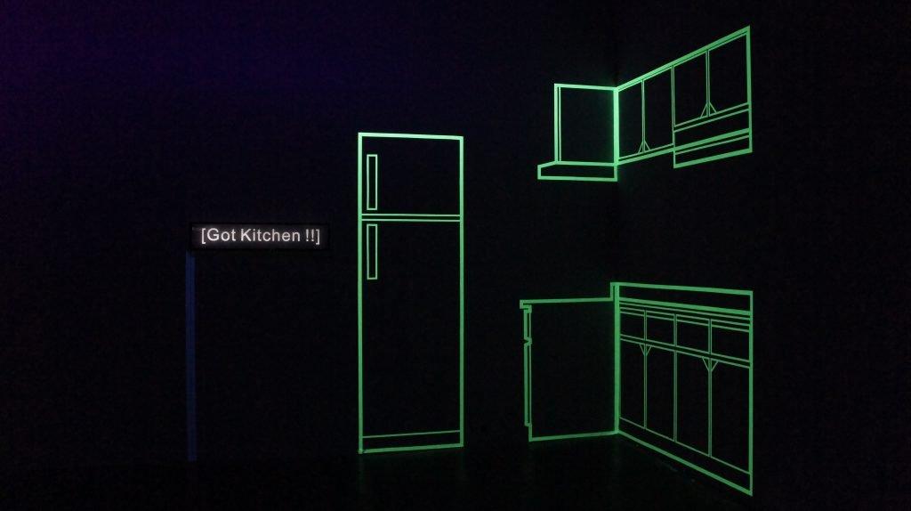 Absent Field, 2014 Chimeras' World -Solo Exhibition by Yu-Chuan Tseng, Digital Art Center, Taipei, Taiwan, 2014/2/22-4/3