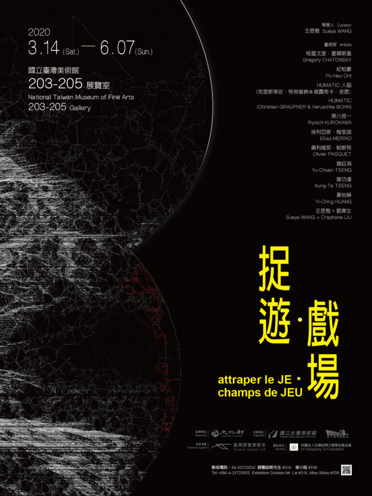 attraper JE champs de JEU(Catch I, Play fields)- Digital Art Curatorial Exhibition Program
