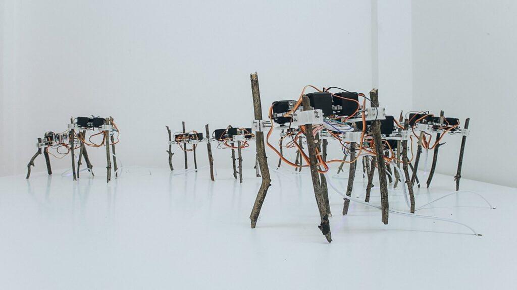 "Chenwei Chiang , ""Mobile"" Device,  photo by Jan Van Woensel"